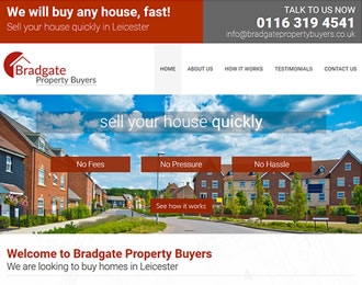 Bradgate Porperty Buyers Website