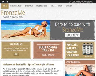 BronzeME Website