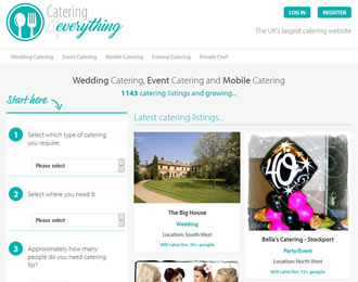 Catering4Everything Website