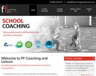 FF COaching and Leisure Website