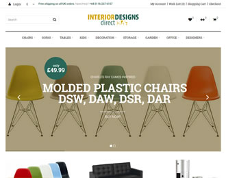 Interior Designs Direct Website