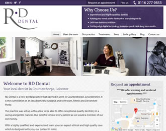 RD Dental Website